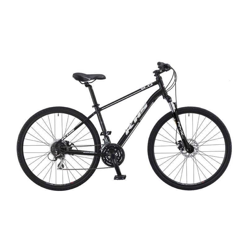 Bicicleta Hibrida KHS Ultrasport 2.0 (2015) Negra