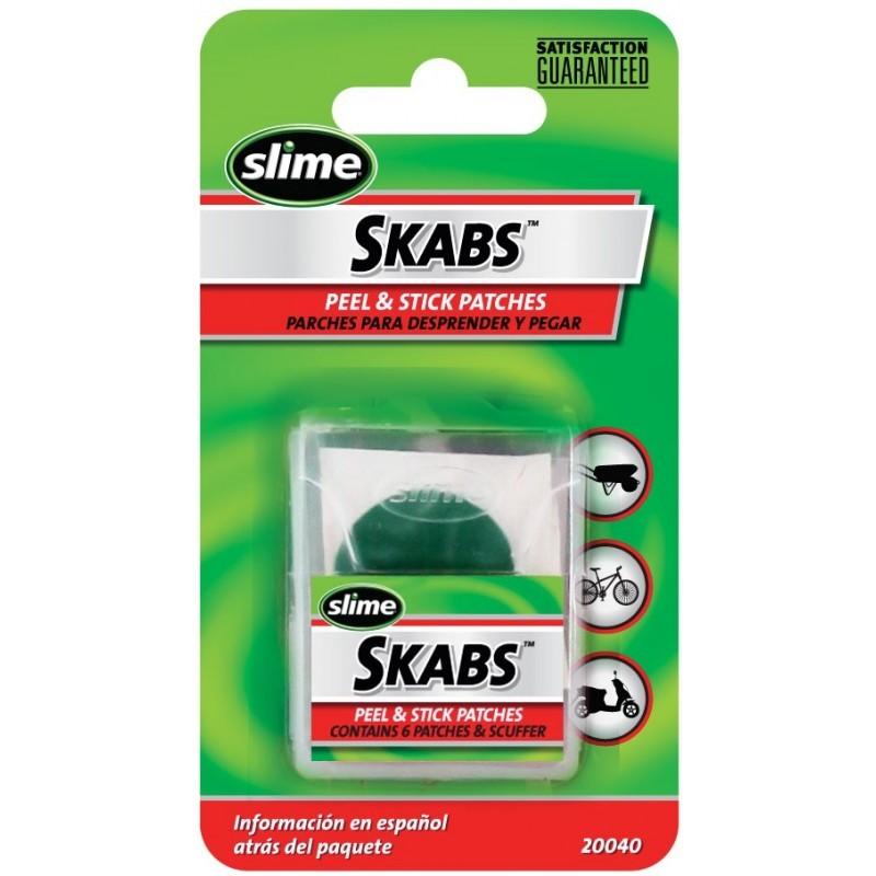 Set parches Slime Skabs  pre engomados