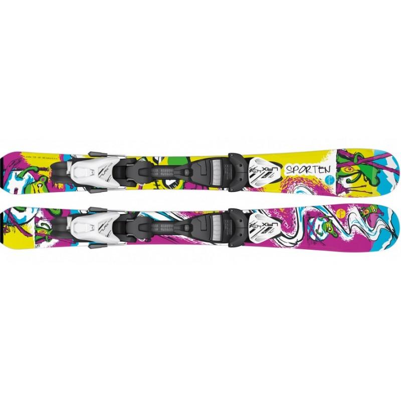 Ski Sporten BugaBoo Junior con fijaciones