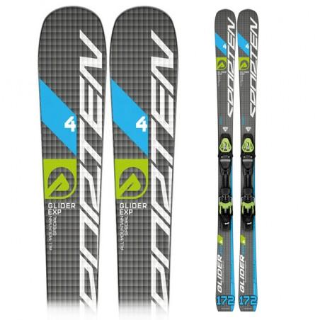 Ski Sporten Glider 4 expert con fijaciones