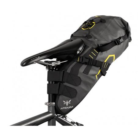 Bolso trasero bikepacking apidura DRY 14 Litros