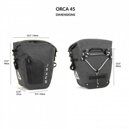 Alforja Arkel Orca 45 (par)