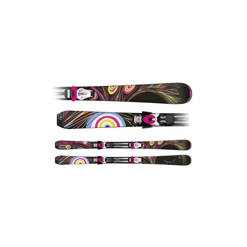 Ski Sporten Mystic Black con fijaciones