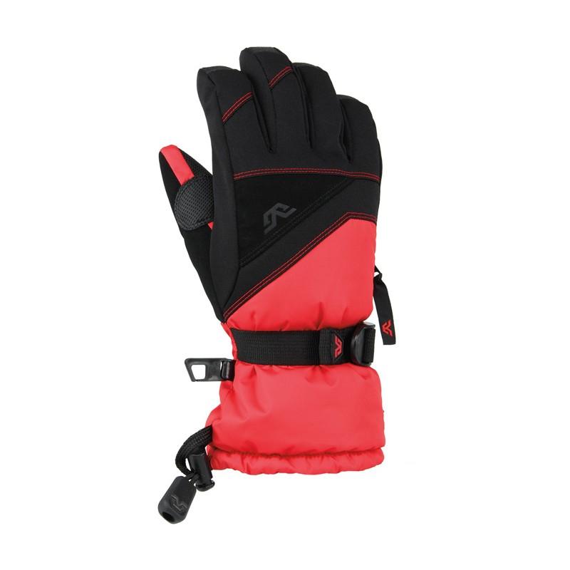 Guante de Ski Hombre Gordini Stomp III - Negro Rojo