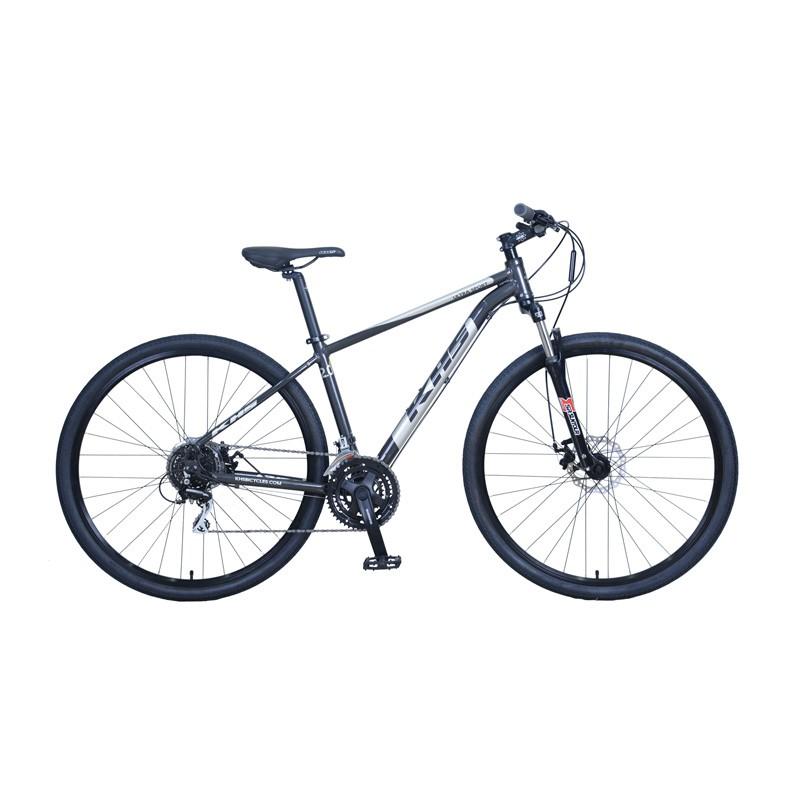 Bicicleta Hibrida KHS Ultrasport 2.0 - Gris Metálico