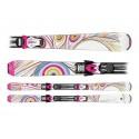 Ski Sporten Mystic White con fijaciones