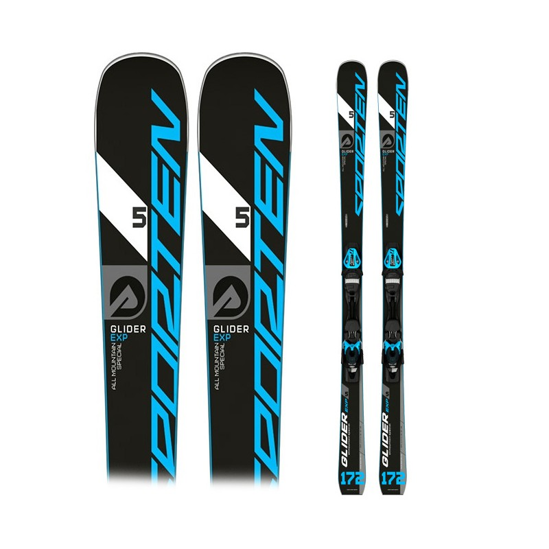 Ski Sporten Glider 5 Exp con fijaciones