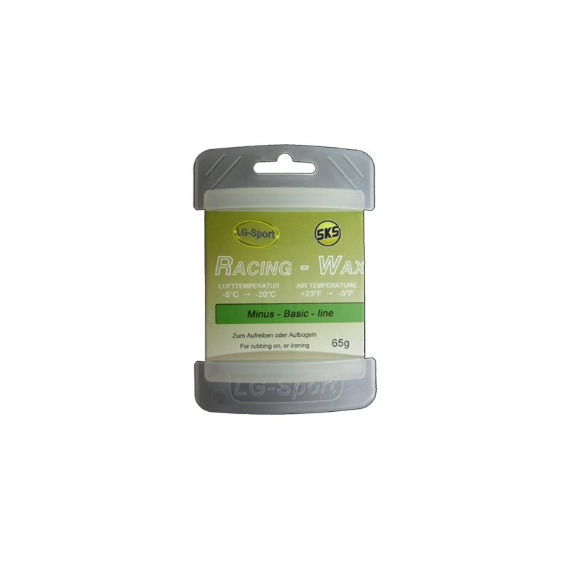 Cera Racing-Wax Minus (-5°C / -20°C) 65grs