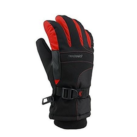 Guante Gordini Junior Aquabloc III - Negro con Rojo