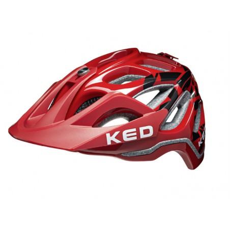Casco Ked Trailon - Rojo Team Kreidler