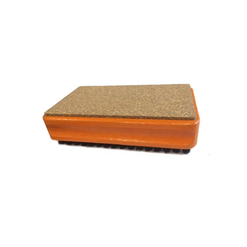 Cepillo compactador de cera crin y corcho