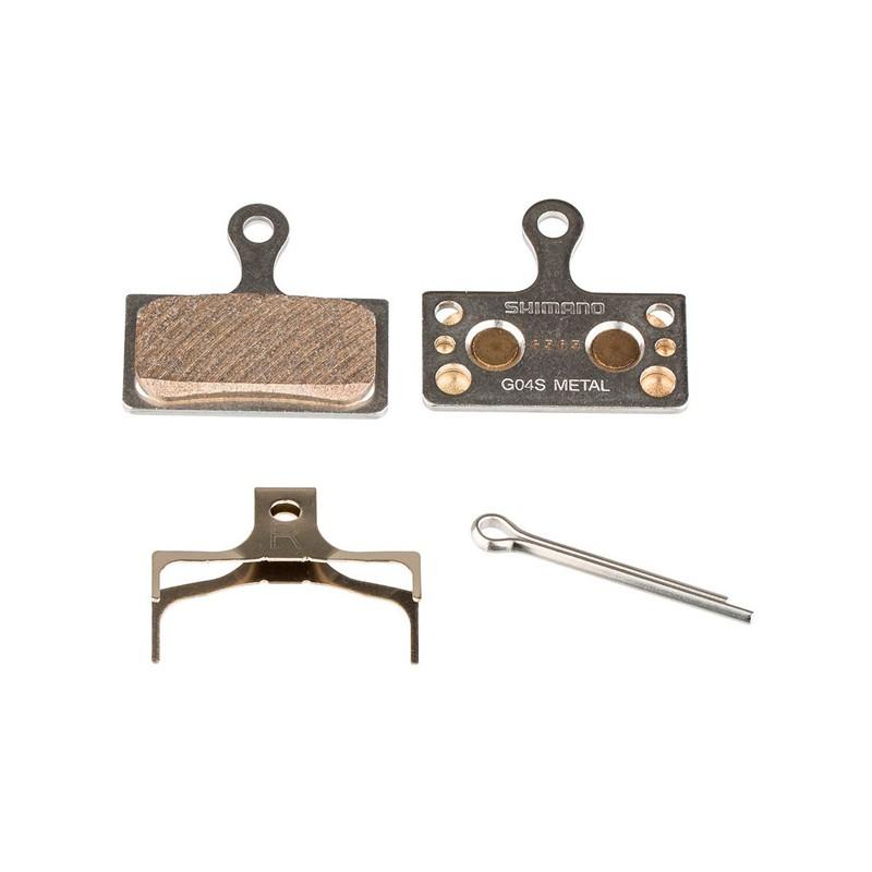 Pastilla de freno metal Shimano G04S