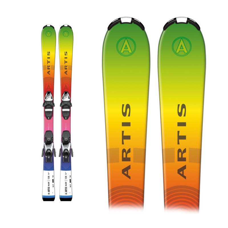 Ski Sporten Danger Zone Junior con Fijaciones