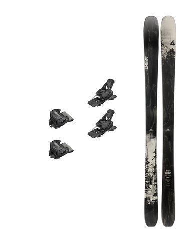 Ski 4FRNT MSP 99 2019 USADO - c/fij - Largo 187