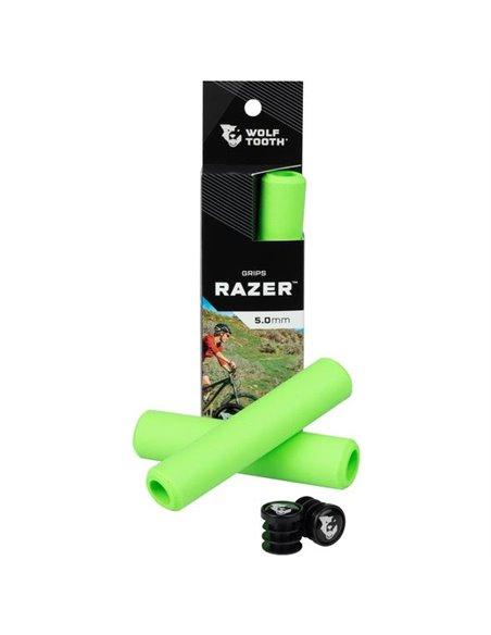 Puños de Silicona Wolf Tooth Razer - Verde