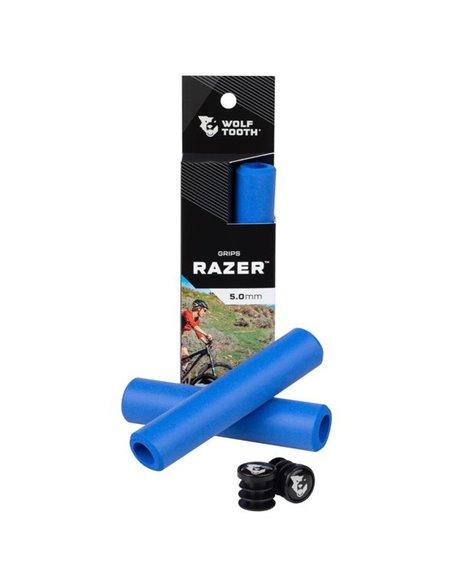Puños de Silicona Wolf Tooth Razer - Azul