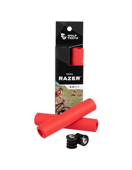 Puños de Silicona Wolf Tooth Razer - Rojo