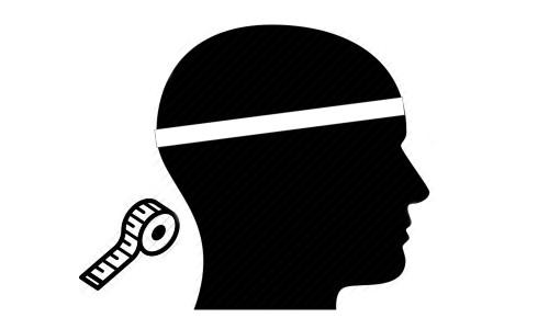 Medir el contorno de la cabeza